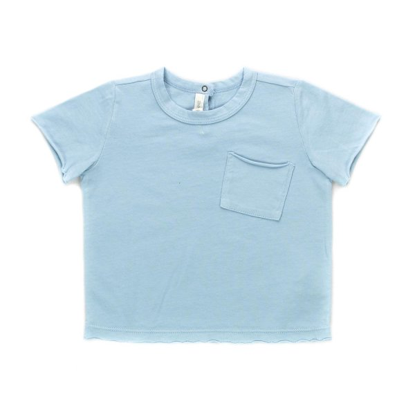 Zhoe & Tobiah - BABY BOY LIGHT BLUE T-SHIRT
