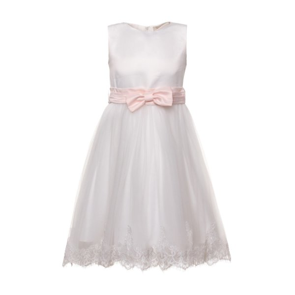 Bella Brilly - WHITE CEREMONY DRESS FOR GIRL