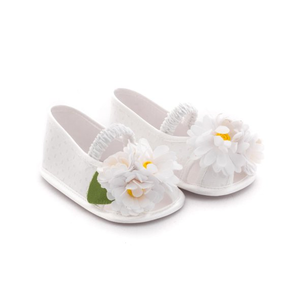 Monnalisa - FLOWER SHOES FOR BABY GIRLS