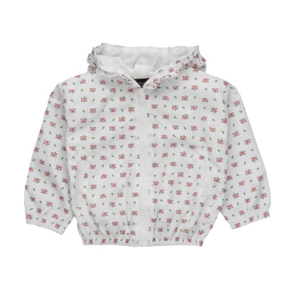 Monnalisa - HOODED JACKET FOR BABY GIRLS