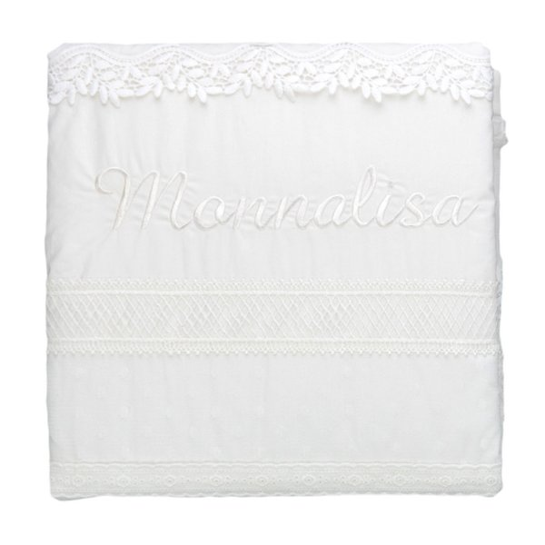 Monnalisa - BABY GIRL COTTON BLANKET