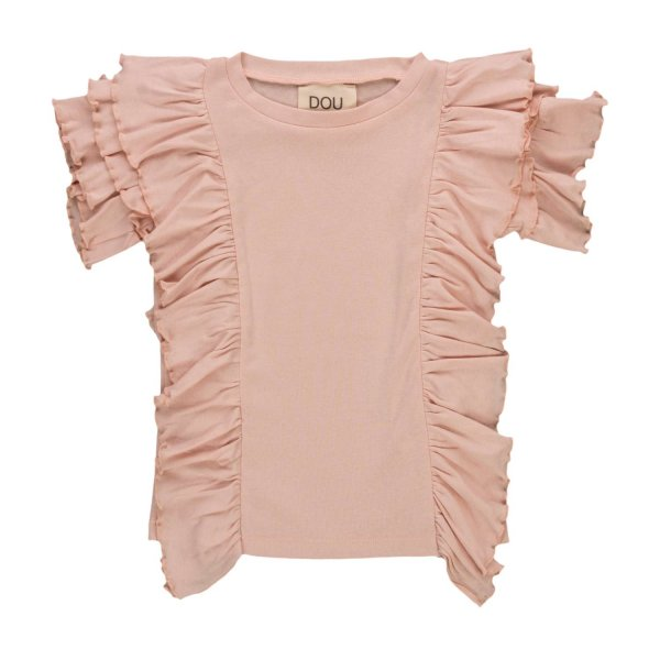 Douuod - TOP WITH RUFFLES FOR GIRLS