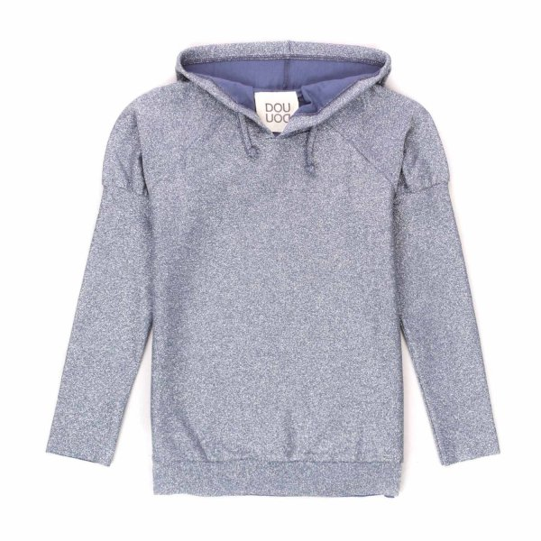 Douuod - LIGHT BLUE HOODIE FOR GIRLS