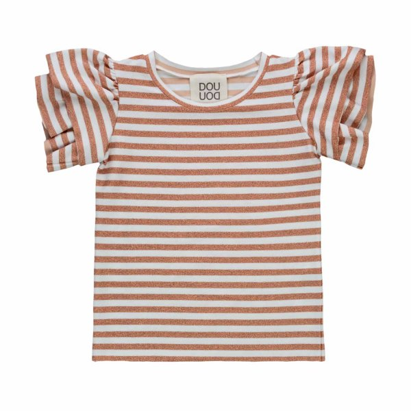 Douuod - T-SHIRT A RIGHE TEENAGER BAMBINA