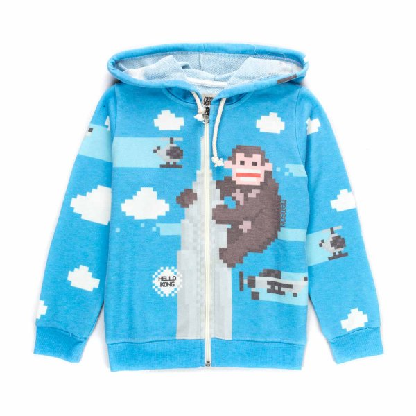 Madson Discount - LIGHT BLUE HOODIE FOR BOYS