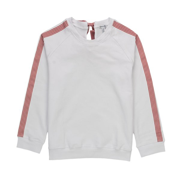Piccolaludo - GIRLS WHITE SWEATSHIRT