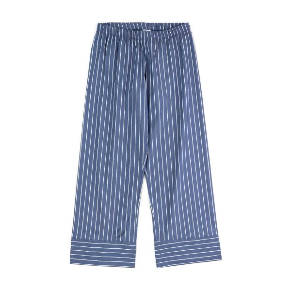 Piccolaludo - GIRL BLUE STRIPED TROUSERS