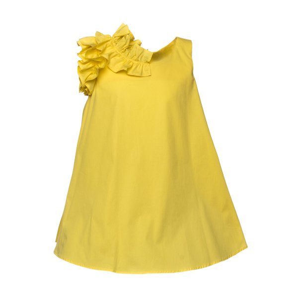 Piccolaludo - LITTLE GIRL YELLOW DRESS