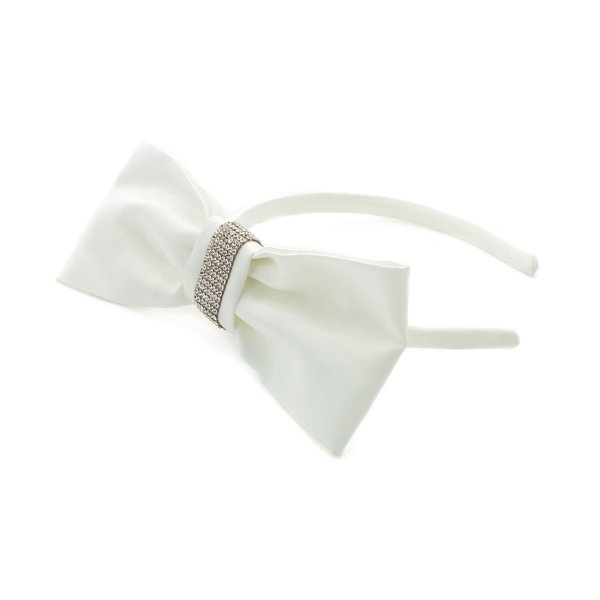 Piccolaludo - strass Bow Headband for Girls