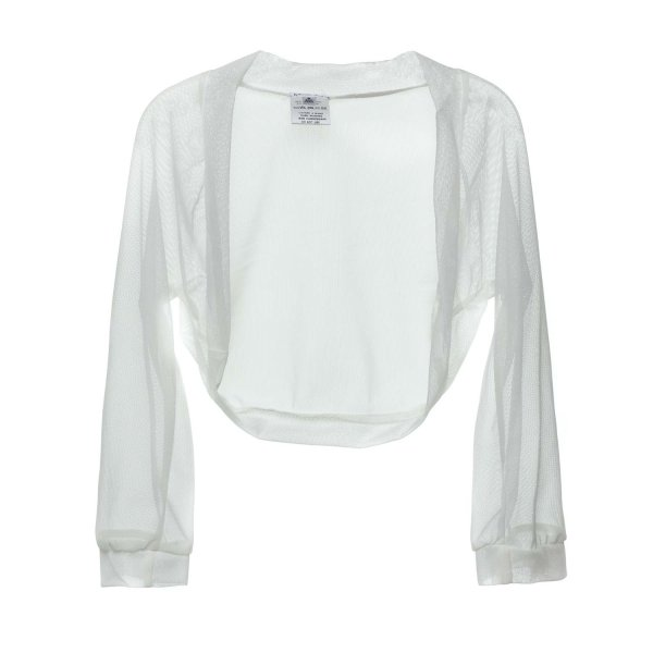 Piccolaludo - WHITE SHRUG FOR GIRLS