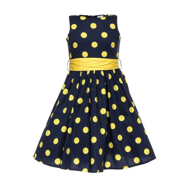 Piccolaludo - DOTTED DRESS FOR GIRLS