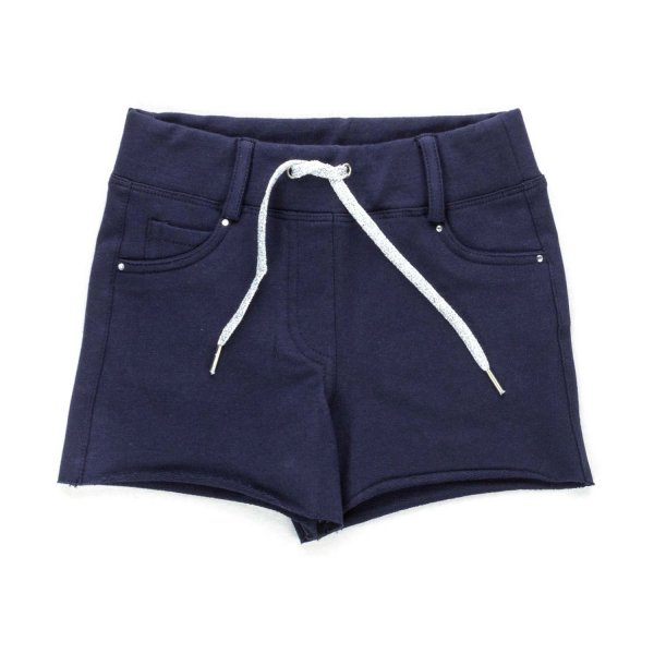 Elsy - BLUE COTTON SHORTS FOR GIRLS