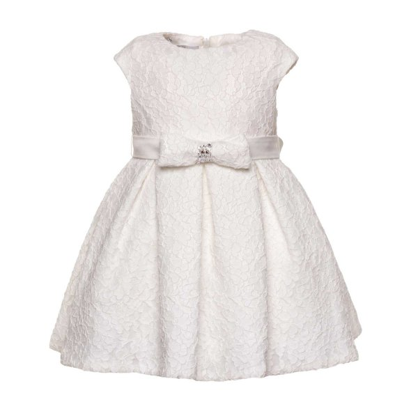 Elsy - BABY GIRL WHITE EMBROIDERED DRESS