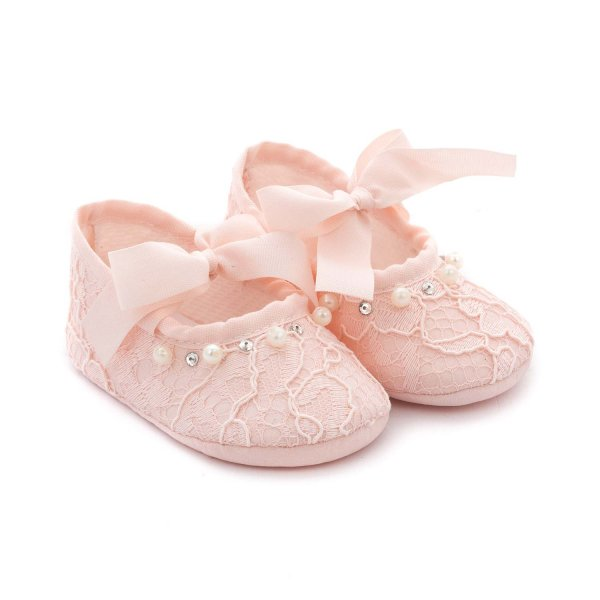 Elsy - PINK BALLERINA SHOES FOR BABY GIRL