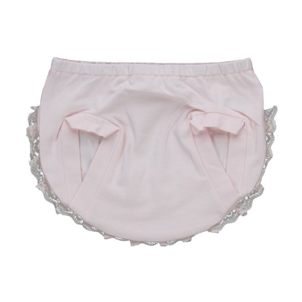 Elsy - PINK LACE CULOTTE FOR BABY GIRLS