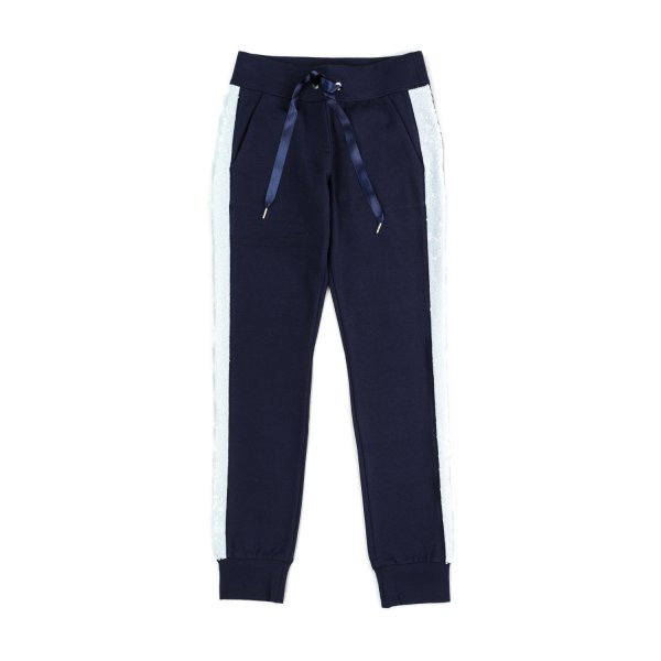 Elsy - BLUE JOGGER SWEATPANTS FOR GIRLS