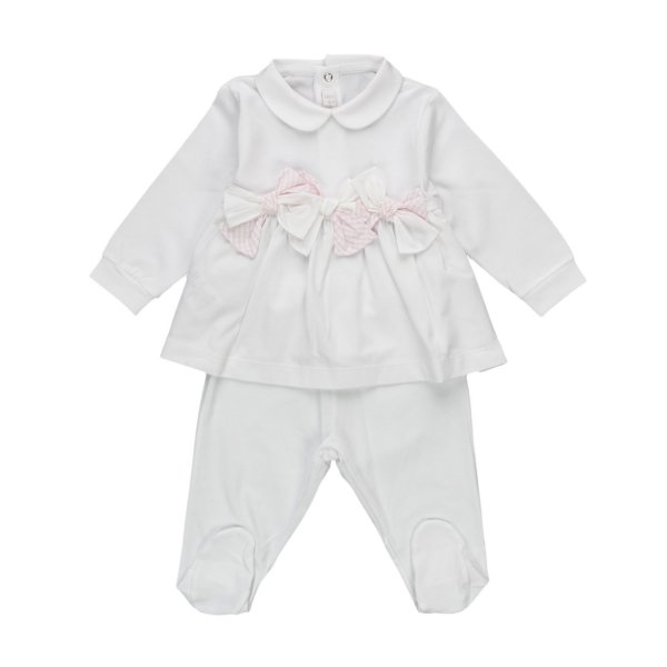 Il Gufo - BABY GIRL TWO-PIECE PLAYSUIT