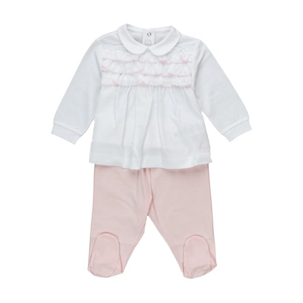 Il Gufo - TWO-PIECE PLAYSUIT FOR BABY GIRLS