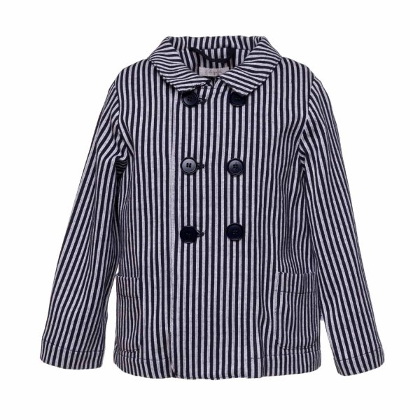 Il Gufo - BABY BOY STRIPED JACKET