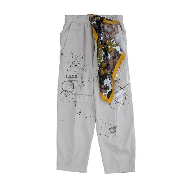 White Sand - UNISEX GREY TROUSERS