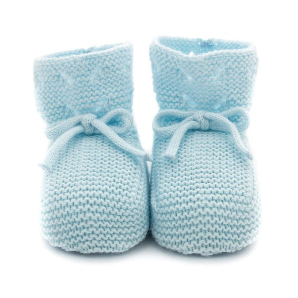 Pili Carrera - BABY BOY LIGHT BLUE BOOTIE