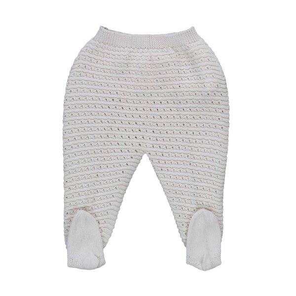 Pili Carrera - BABY EMBROIDERED TROUSERS