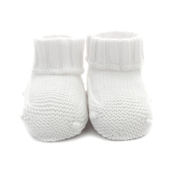 Pili Carrera - BABY WHITE COTTON BOOTIE