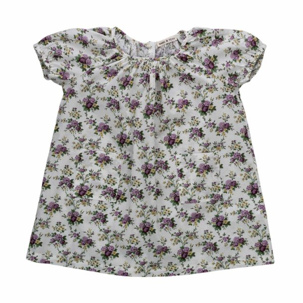 Babe & Tess - FLORAL DRESS FOR BABY GIRL