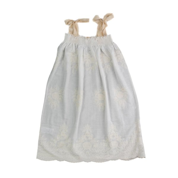 Babe & Tess - LITTLE GIRLS EMBROIDERY DRESS