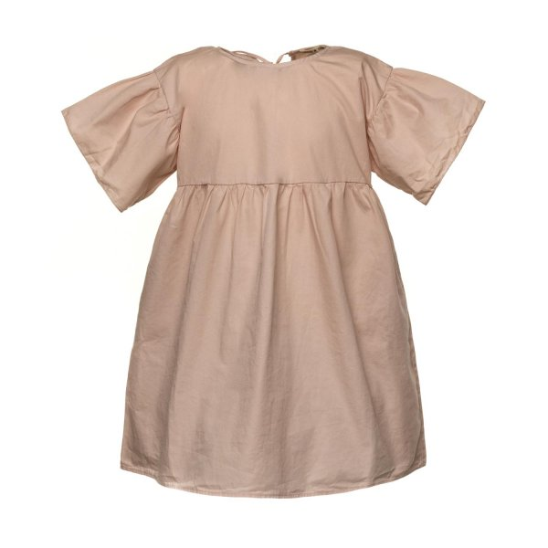 Babe & Tess - OLD ROSE DRESS FOR LITTLE GIRLS
