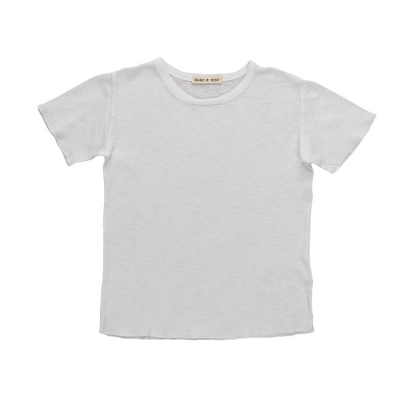 Babe & Tess - LITTLE BOY WHITE T-SHIRT