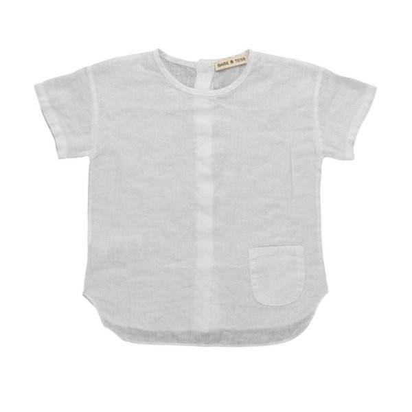 Babe & Tess - LINEN SHIRT FOR BABY BOYS