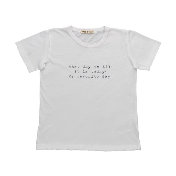 Babe & Tess - PRINT T-SHIRT FOR LITTLE BOYS