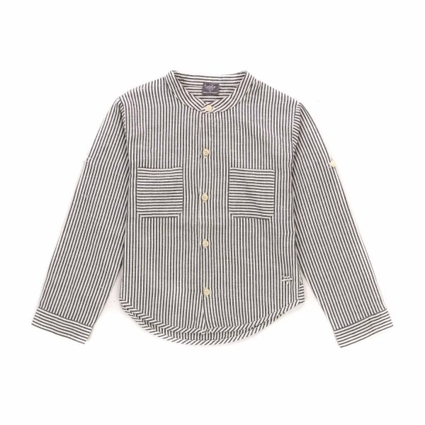 Tocotò Vintage - STRIPED SHIRT FOR GIRLS