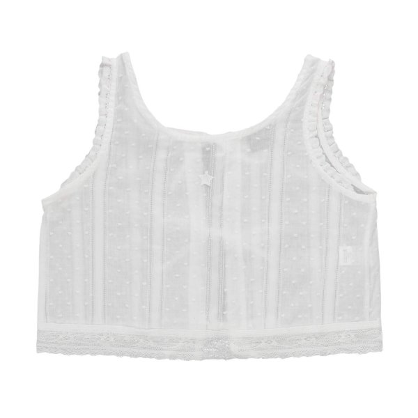 Tocotò Vintage - GIRL ELEGANT WHITE TOP