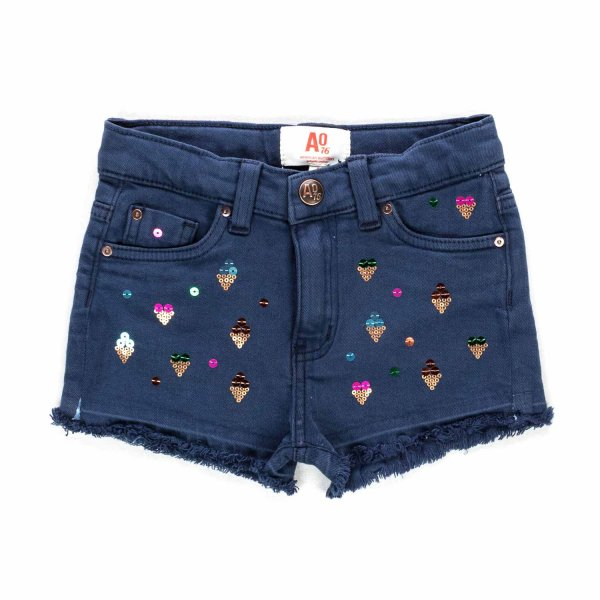 American Outfitters - BLUE SHORTS FOR GIRLS