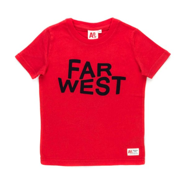 American Outfitters - UNISEX RED T-SHIRT