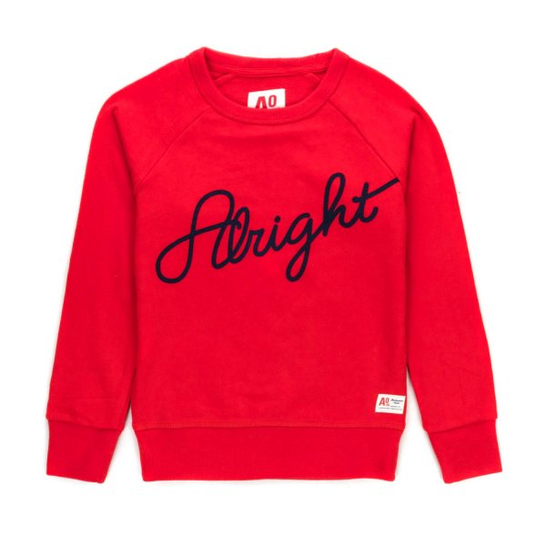 American Outfitters - GIRL RED SWEATSHIRT