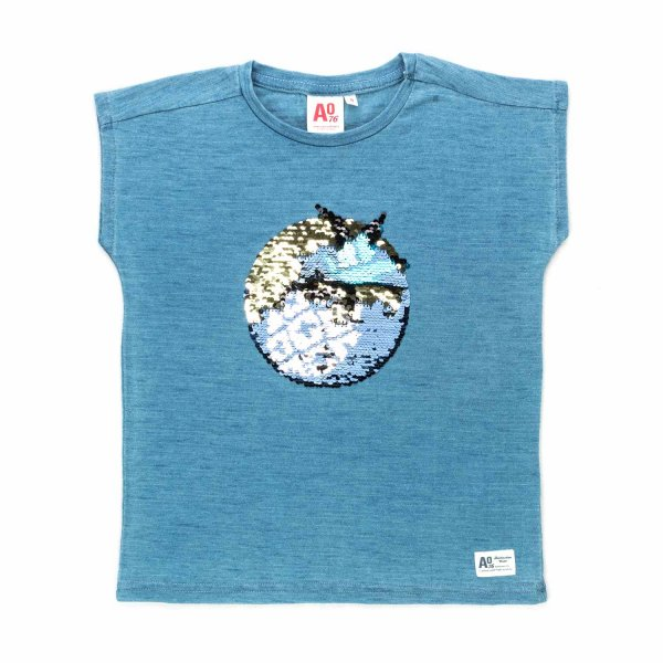 American Outfitters - SEQUIN T-SHIRT FOR GIRLS