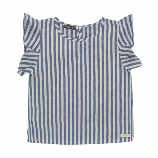 Yellowsub - LITTLE GIRL STRIPED BLOUSE