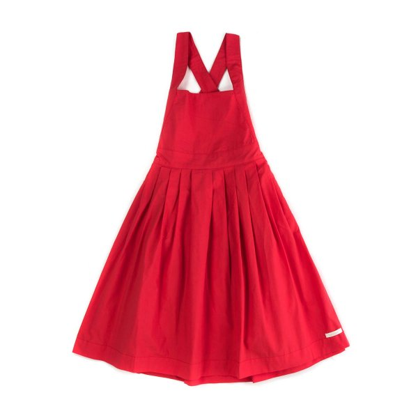 Yellowsub - LITTLE GIRL RED SUMMER DRESS