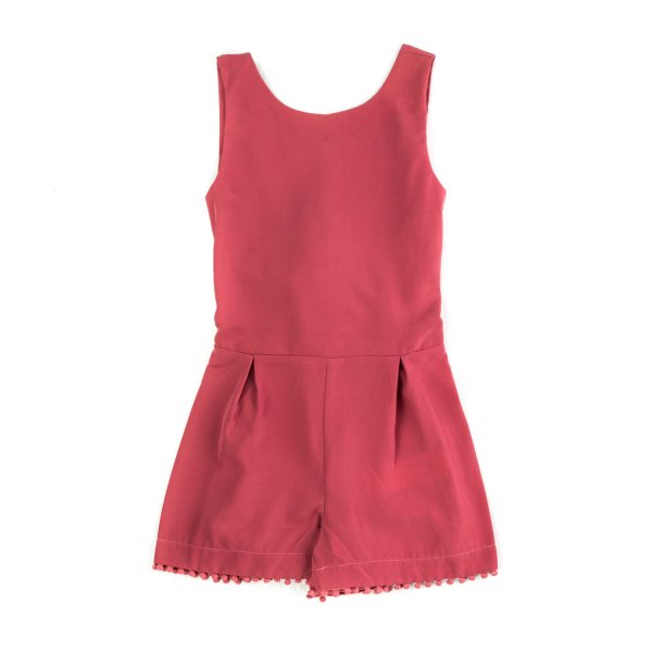 Yellowsub - PINK SHORT OVERALL FOR GIRLS