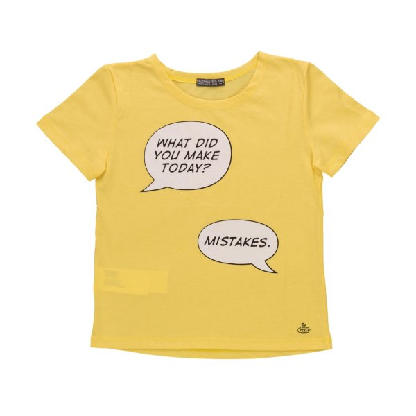 Yellowsub - LITTLE GIRLS PRINT T-SHIRT