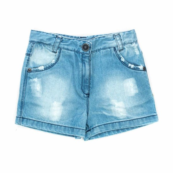Yellowsub - DENIM SHORTS FOR LITTLE GIRLS