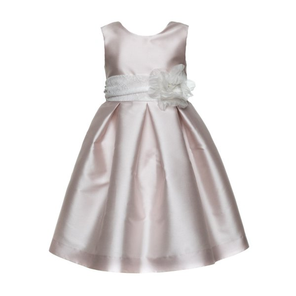 La Stupenderia - GIRL PEARL PINK DRESS