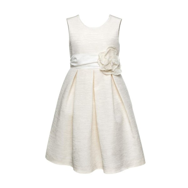 La Stupenderia - DRESS WITH BOW FOR GIRLS