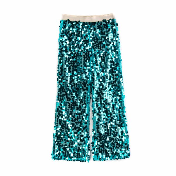 La Stupenderia - SEQUIN TROUSERS FOR GIRLS