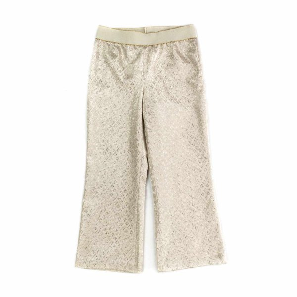 La Stupenderia - IVORY TROUSERS FOR GIRLS