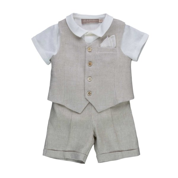 La Stupenderia - ELEGANT SET FOR BABY BOYS
