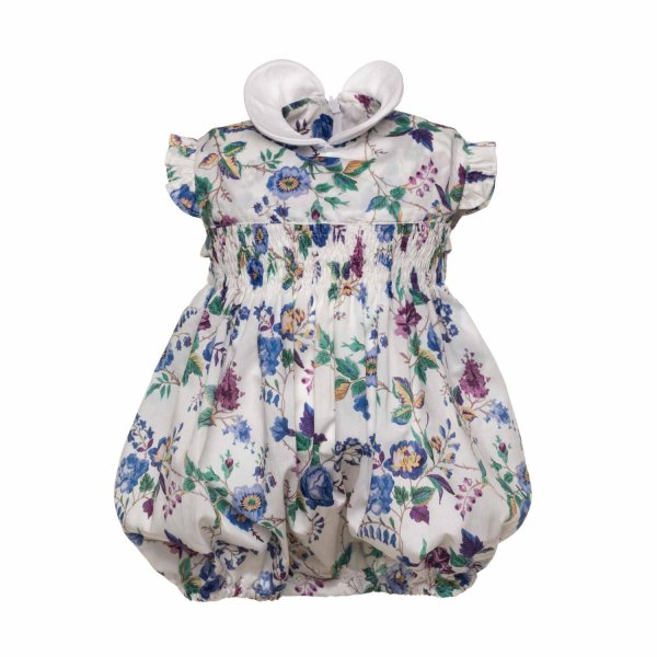 Paio Crippa - BABY GIRL FLORAL ROMPERS
